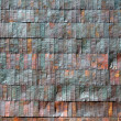 Old metal siding — Stock Photo