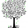 Filigree Tree — Stock Photo