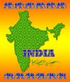 印度旅游海报 — 图库照片