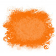 Orange Grunge Paint Smear Background — Photo