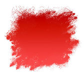 Red Grunge Paint Smear Background — Stock Photo