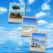 Summer beach images — Stock Photo