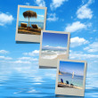 Stock Photo: Summer beach images