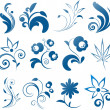 Collection of vector design elements - Stockvectorbeeld