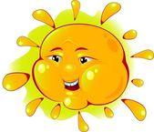 Sun — Stockvektor