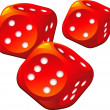 Dice - Stock Vector