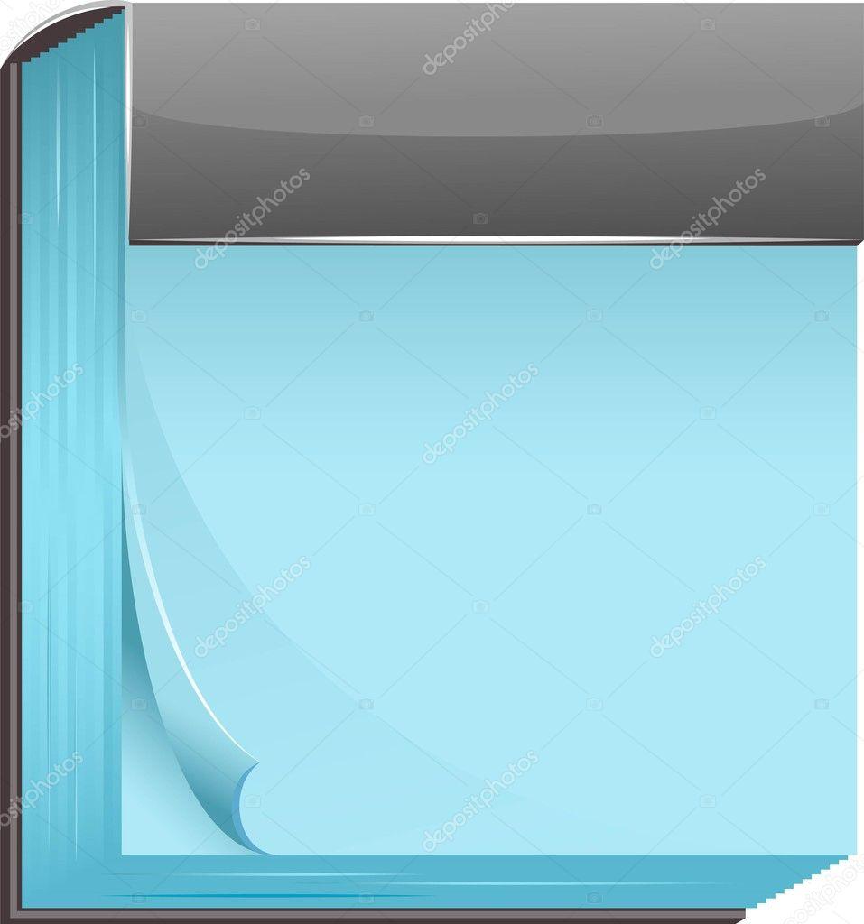 Blank Calendar Icon Vector Blank calendar - stock