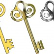 Keys — Vector de stock #3693837