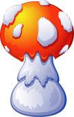 Fly Agaric Mushroom — Stock Vector