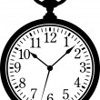 Stock vektor: Pocket Watch