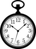 Pocket Watch — Vector de stock