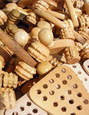 木制产品 — 图库照片