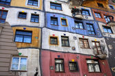 Colorful Hundertwasserhaus — Stock Photo