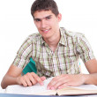 Portrait of smiling student — Stock Photo #3109259