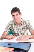 Portrait of smiling student — Stock Photo
