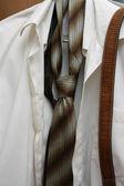 сорочка с галстуком — Stock Photo