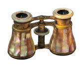 Antique binoculars — Stock Photo