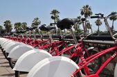 Monte de bicicleta — Foto Stock