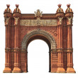 Arc de Triomf in Barcelona — Stock Photo