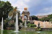 El Parc de la Ciutadella — Stock Photo