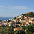Begur view - Costa Brava - Stock Photo