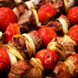 Stock Photo: Shish kebab - barbecue