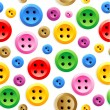 Seamless sewing buttons colorful pattern — Stock Vector #3054745