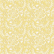 Seamless floral pattern background — Vector de stock