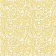 Seamless floral pattern background — Vecteur #3761379