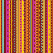 Seamless stripes and laces pattern of autumn colors — Stok Vektör