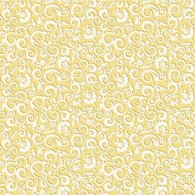 Seamless elegant floral pattern background