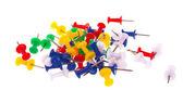 Tachas coloridas — Fotografia Stock