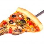 Slice of pizza — Stock Photo #2850672