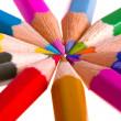 Color pencils — Stock Photo #2850681