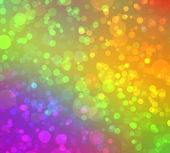 Multicolored abstract bokeh background — Stock Photo