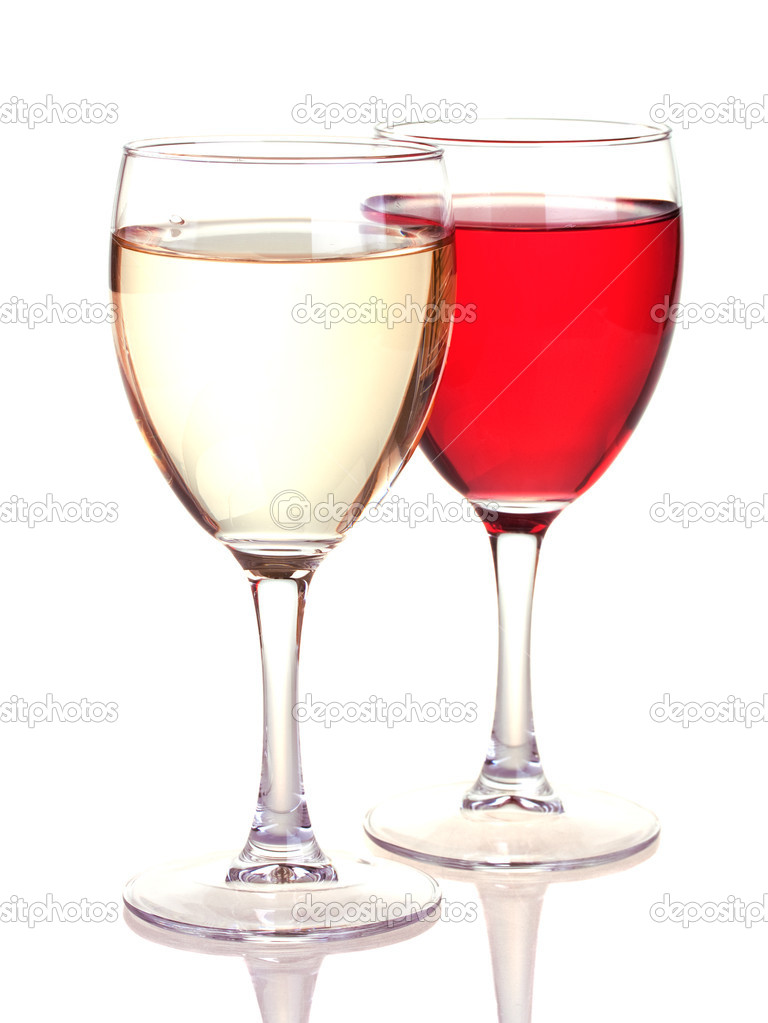 how to serve the white and rose wine