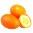 Stock Photo: Fresh kumquats