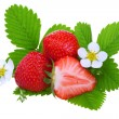 Fresh strawberry — Stock Photo #3380451