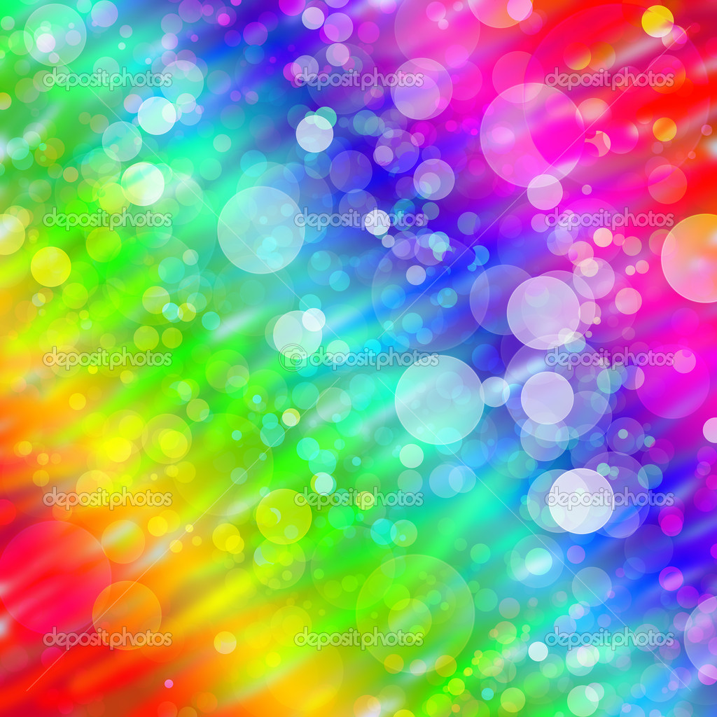 Multicolored abstract bokeh background — Stock Photo #3380651