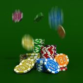 Poker chip — Stock Photo