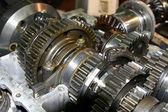 Metal gears — Stock Photo