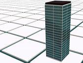 Modern skyscraper — Stock Photo