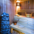 Cozy sauna — Stock Photo #3396227