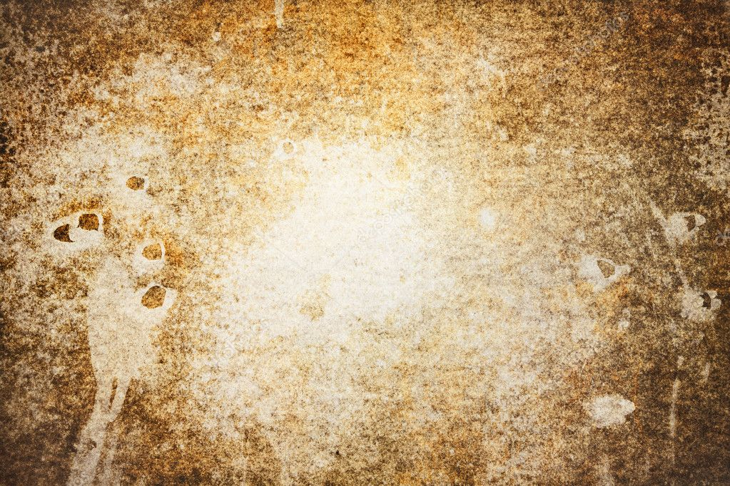 Dirt and stains on old paper. Background. — Stock Photo #3390863