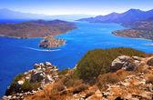 Spinalonga. Mirabello Bay. — Stock Photo