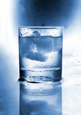 Glass with water. — Stock Photo