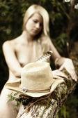 麦わら帽子. — ストック写真