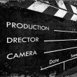 Clapboard — Stock Photo #3510712