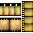 Movie film strips — Stock Photo #3630035