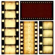 Movie film strips — Stock Photo #3630036